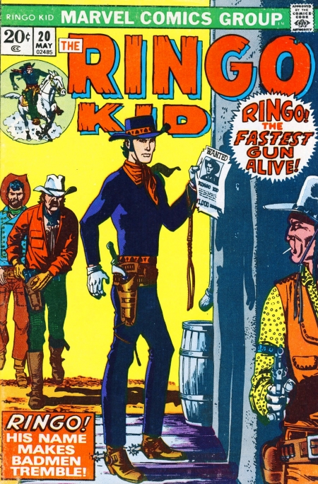The Ringo Kid V2 20 Cover Image