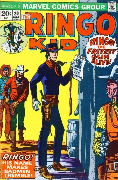 The Ringo Kid V2 20 Cover Image