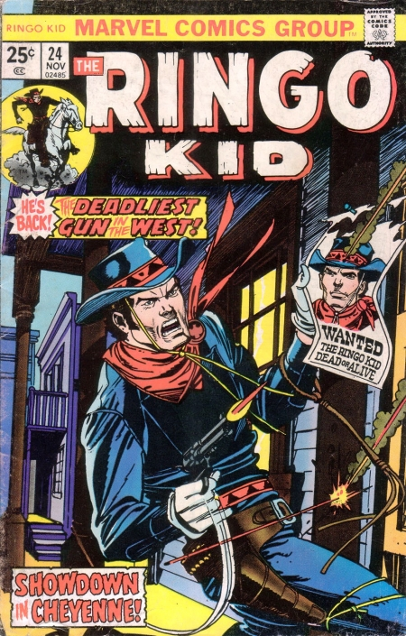 The Ringo Kid V2 24 Cover Image
