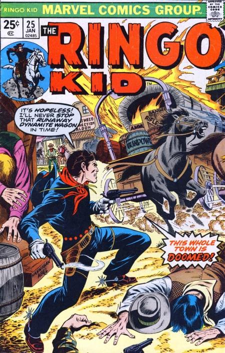 The Ringo Kid V2 25 Cover Image