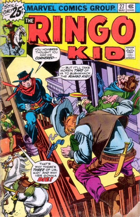 The Ringo Kid V2 27 Cover Image