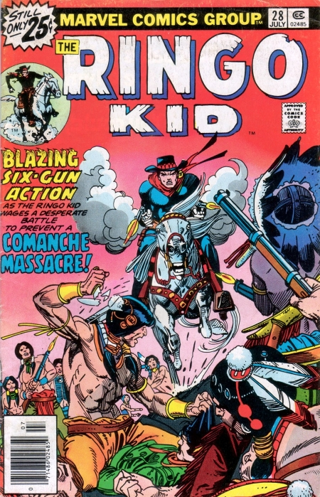 The Ringo Kid V2 28 Cover Image