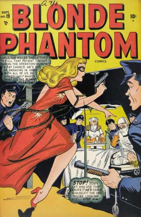 Blonde Phantom 19 Cover Image