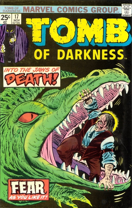 Tomb of Darkness 17 Cover Image