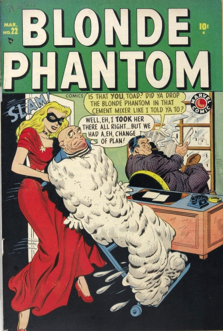 Blonde Phantom 22 Cover Image