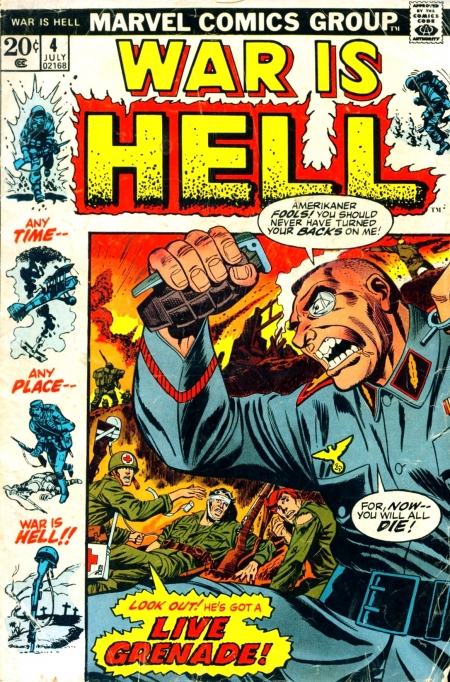 War is Hell 4 Cover Image