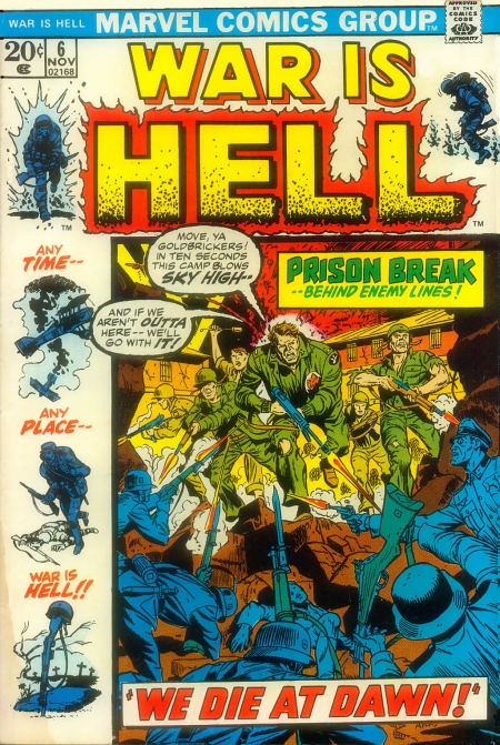War is Hell 6 Cover Image