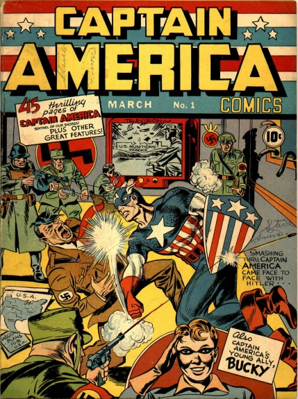 Captain America Comics 1 Cover Image