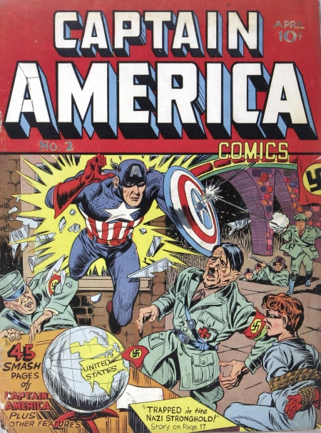 Captain America Comics 2 Cover Image