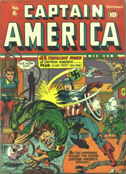 Captain America Comics 6 Cover Image