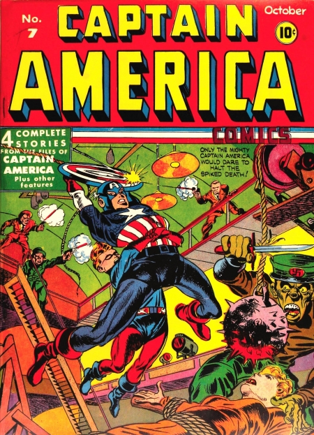 Captain America Comics 7 Cover Image