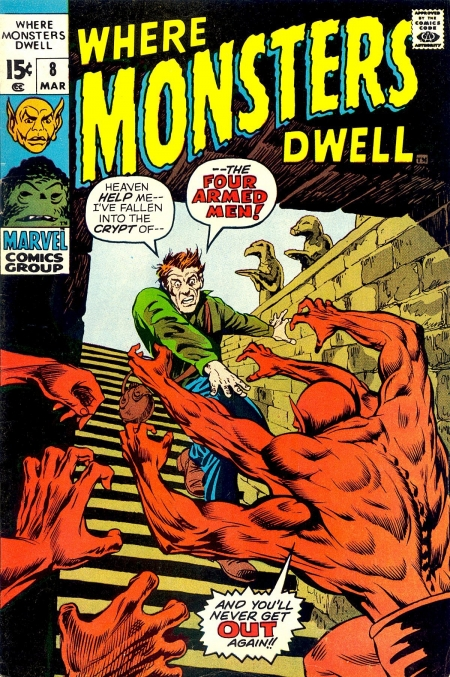 Where Monsters Dwell 8 Cover Image