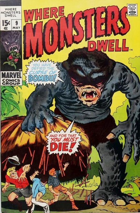 Where Monsters Dwell 9 Cover Image