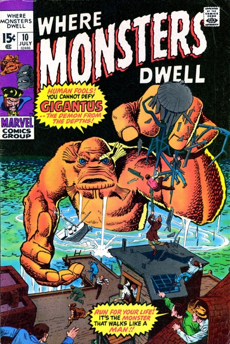 Where Monsters Dwell 10 Cover Image