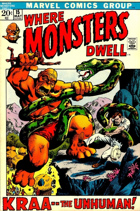 Where Monsters Dwell 15 Cover Image