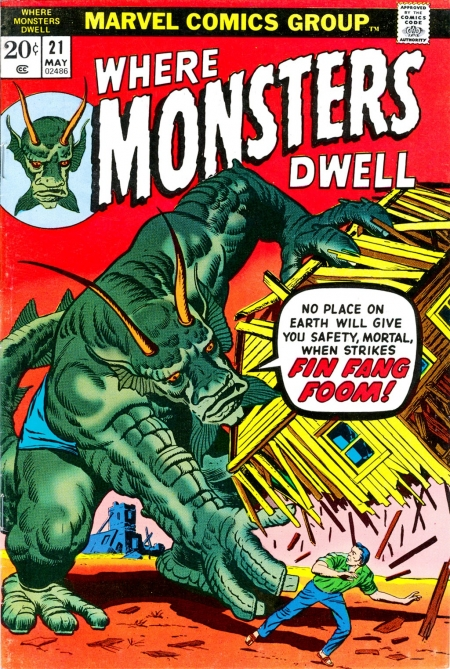Where Monsters Dwell 21 Cover Image
