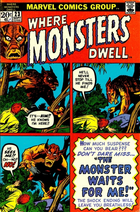 Where Monsters Dwell 23 Cover Image