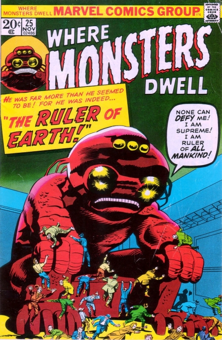 Where Monsters Dwell 25 Cover Image