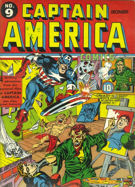 Captain America Comics 9 Cover Image