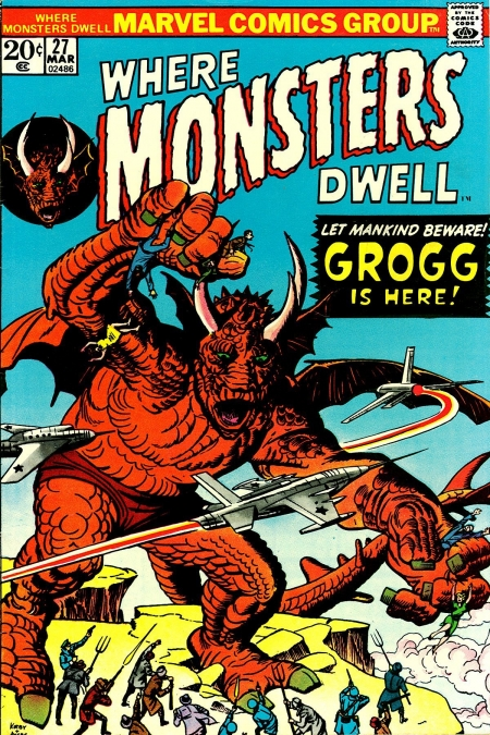 Where Monsters Dwell 27 Cover Image