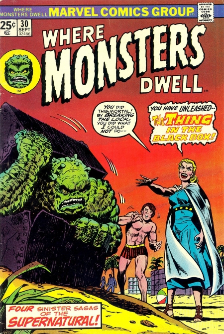 Where Monsters Dwell 30 Cover Image
