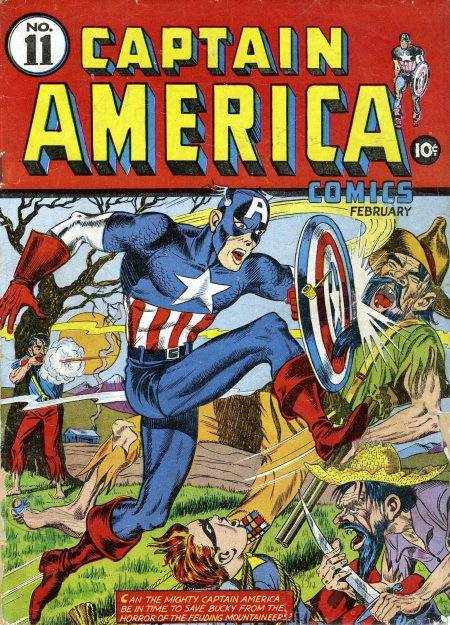 Captain America Comics 11 Cover Image