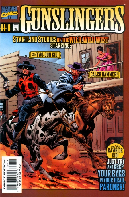 Gunslingers 1 Cover Image