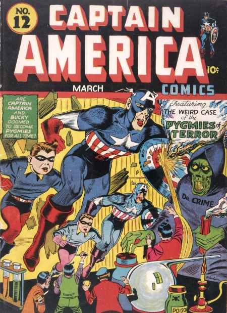 Captain America Comics 12 Cover Image