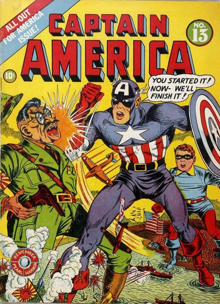 Captain America Comics 13 Cover Image