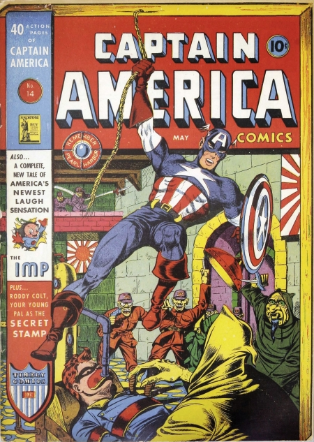 Captain America Comics 14 Cover Image