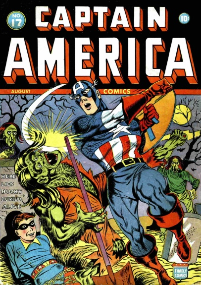 Captain America Comics 17 Cover Image