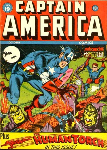 Captain America Comics 19 Cover Image