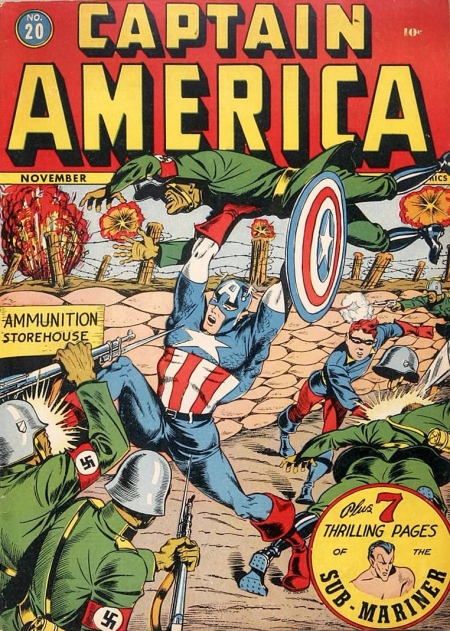 Captain America Comics 20 Cover Image