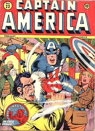 Captain America Comics 23 Cover Image