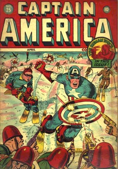 Captain America Comics 25 Cover Image