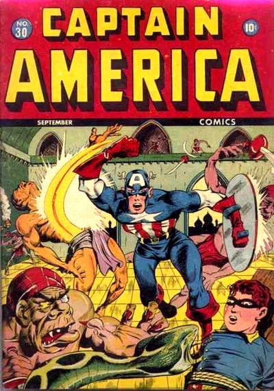 Captain America Comics 30 Cover Image
