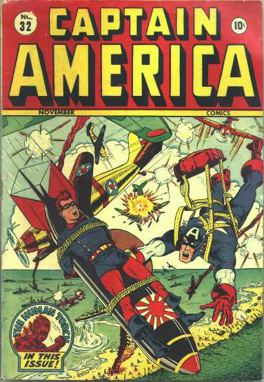 Captain America Comics 32 Cover Image