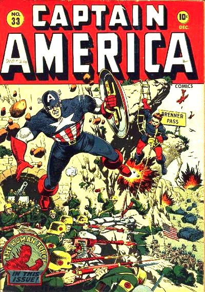 Captain America Comics 33 Cover Image