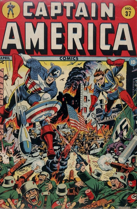 Captain America Comics 37 Cover Image