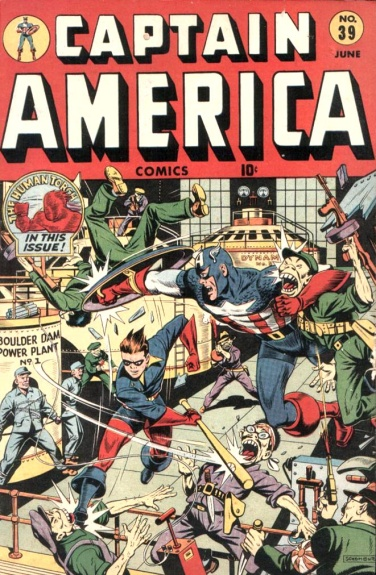 Captain America Comics 39 Cover Image