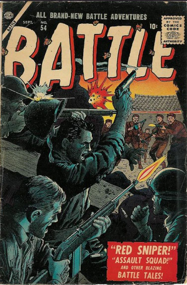 Battle 54 Cover Image