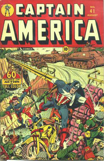 Captain America Comics 41 Cover Image