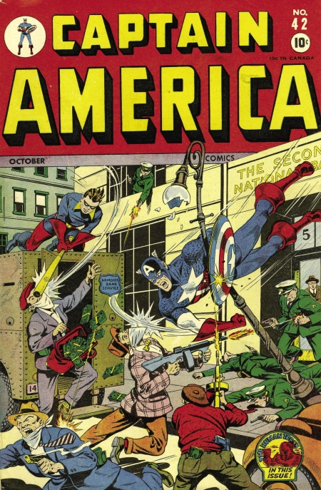 Captain America Comics 42 Cover Image