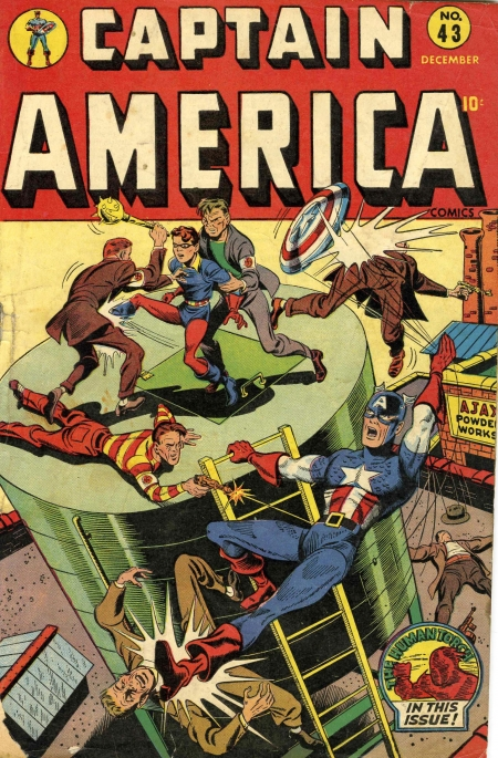 Captain America Comics 43 Cover Image