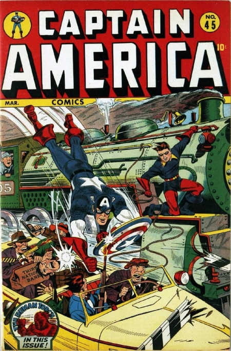 Captain America Comics 45 Cover Image