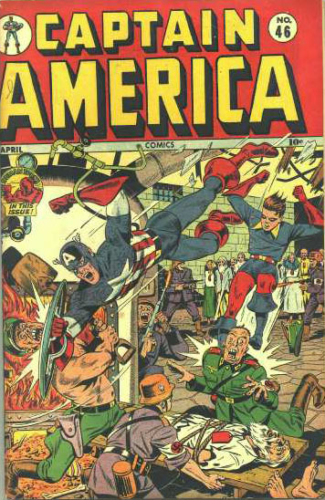 Captain America Comics 46 Cover Image