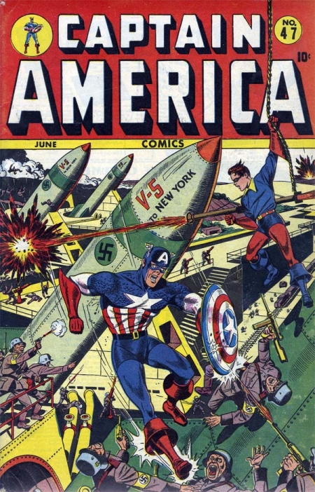 Captain America Comics 47 Cover Image