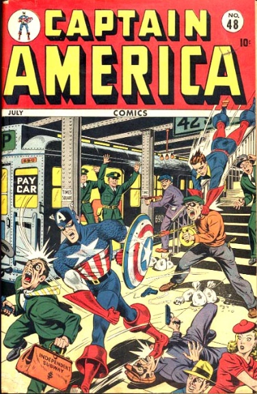 Captain America Comics 48 Cover Image