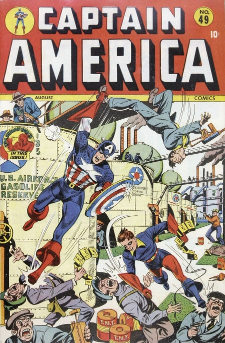 Captain America Comics 49 Cover Image