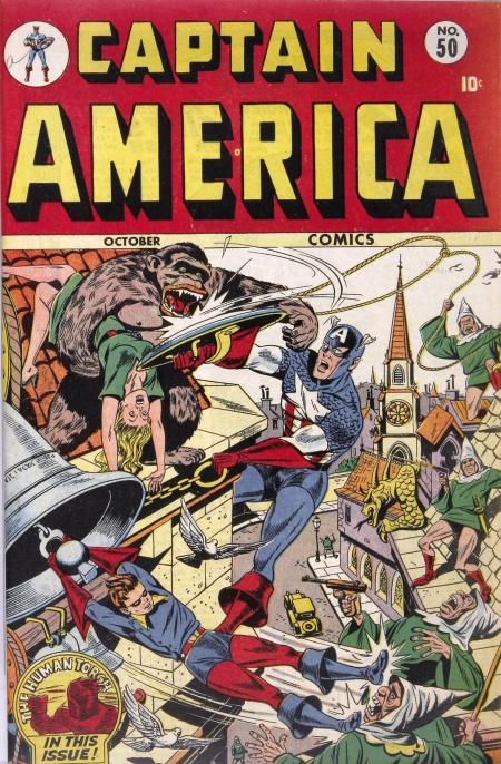 Captain America Comics 50 Cover Image